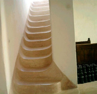 Tadelakt_stairs